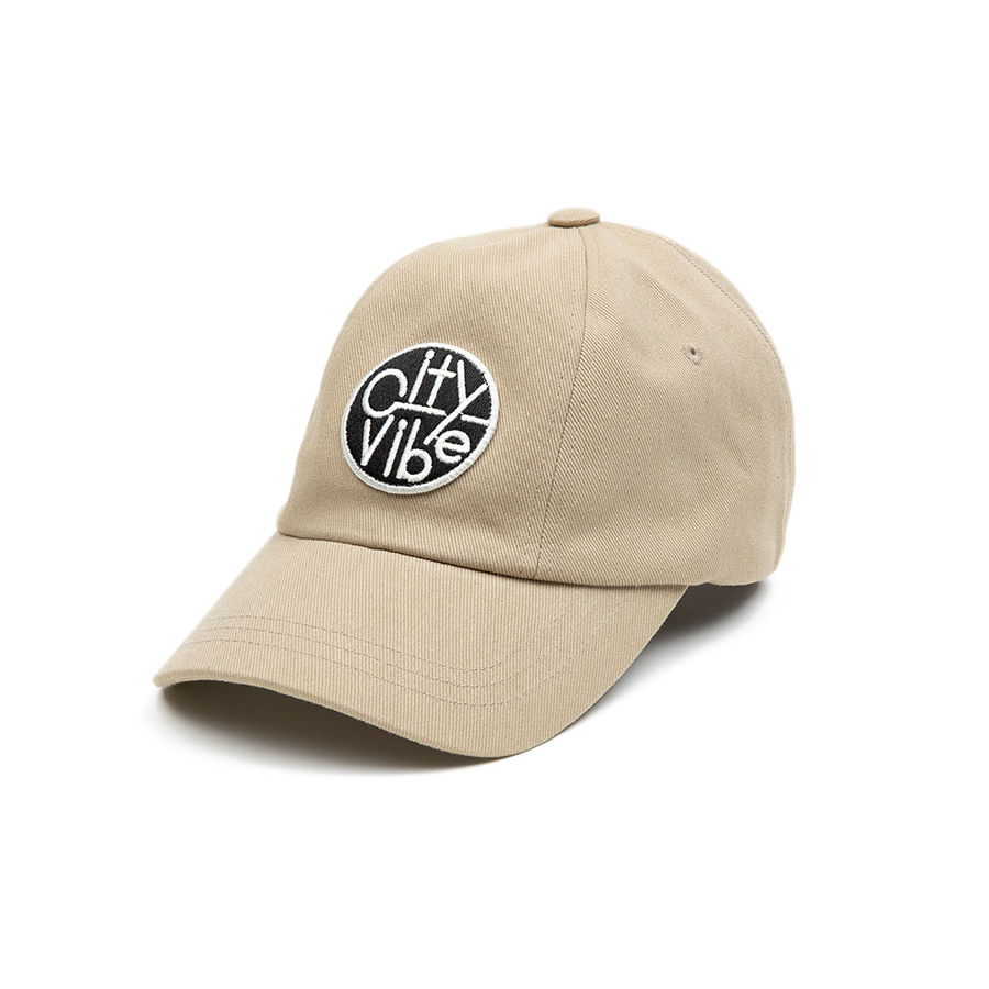 City Vibe Ball Cap Beige