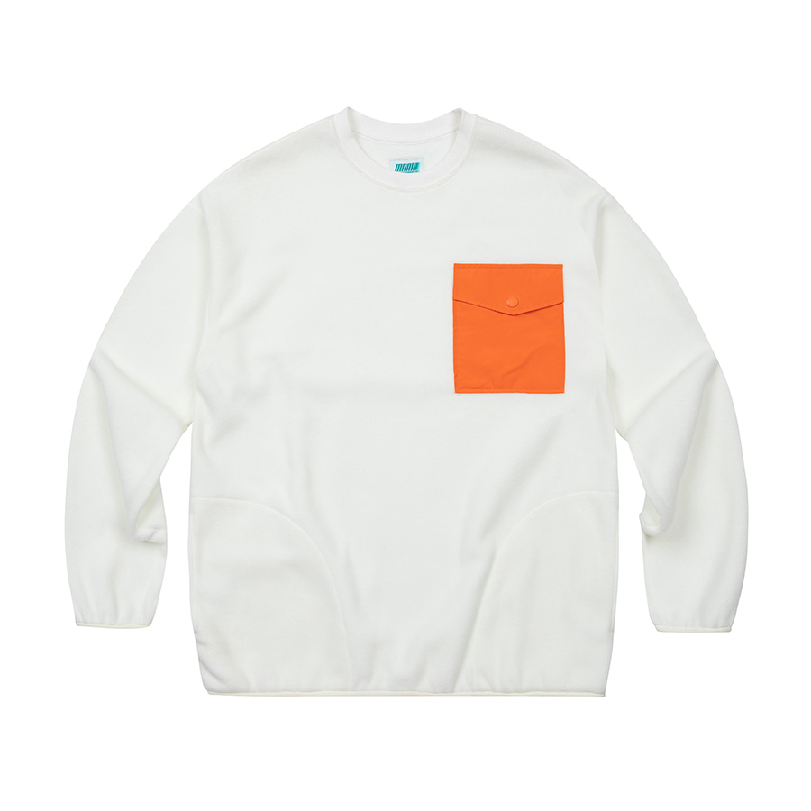 Fleece Crewneck Ivory