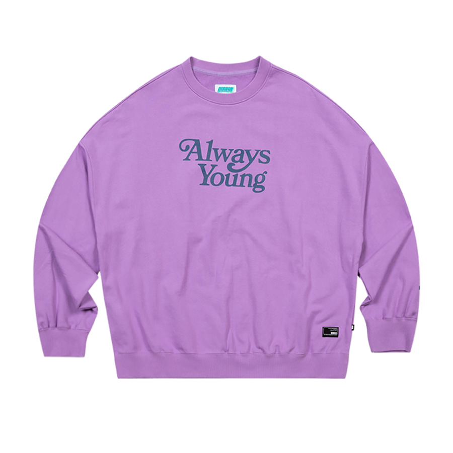 Always Young Crewneck Light Purple