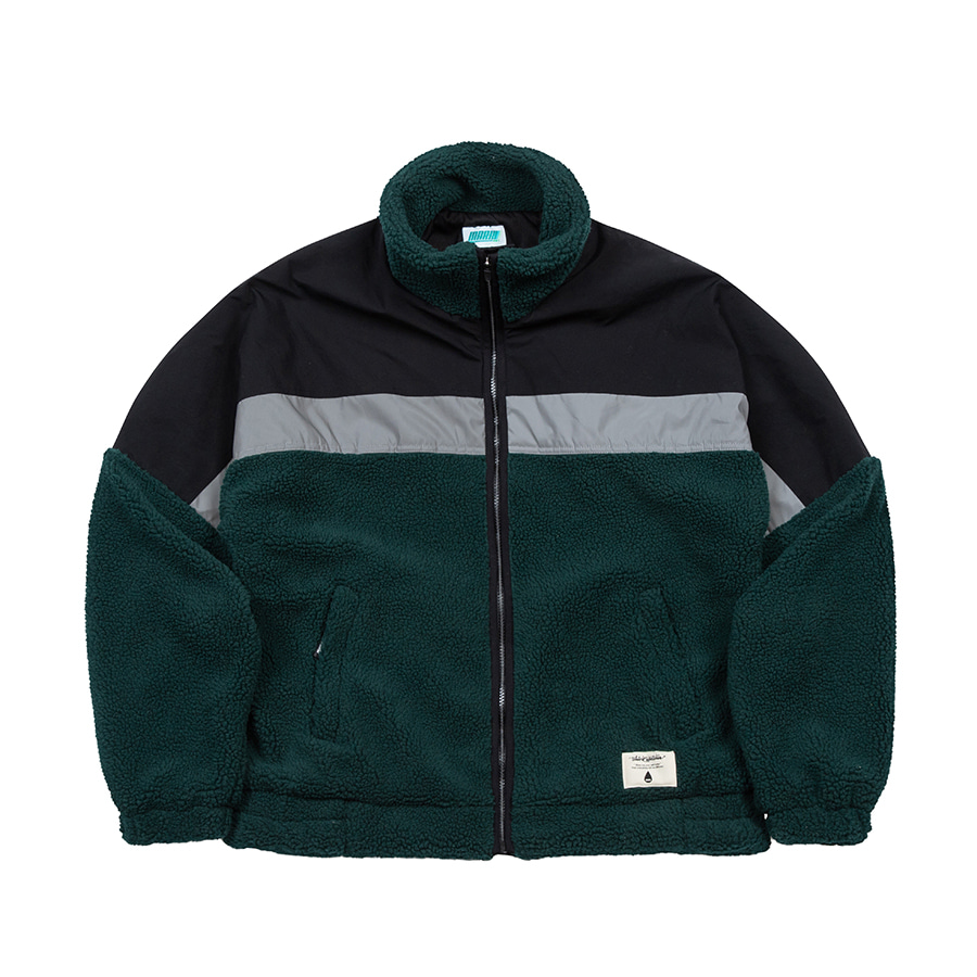 Boa Fleece Zipup Jacket GRDD