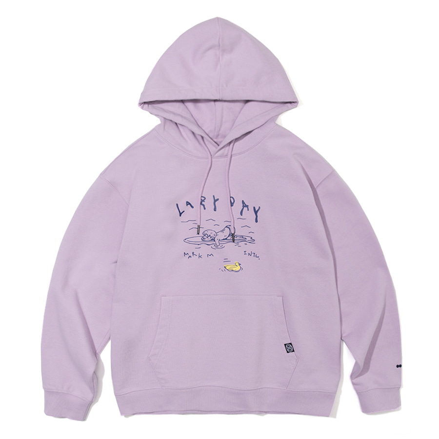 Lazy Day Hoodie Light Purple