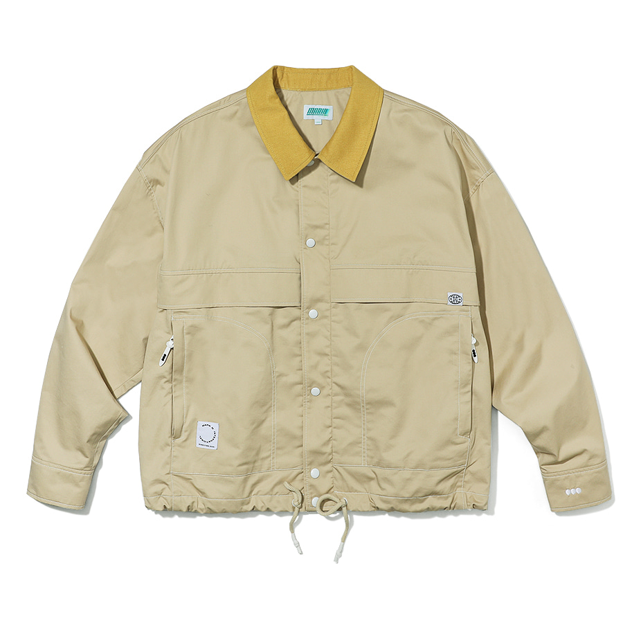 Point Stitch Jacket Beige