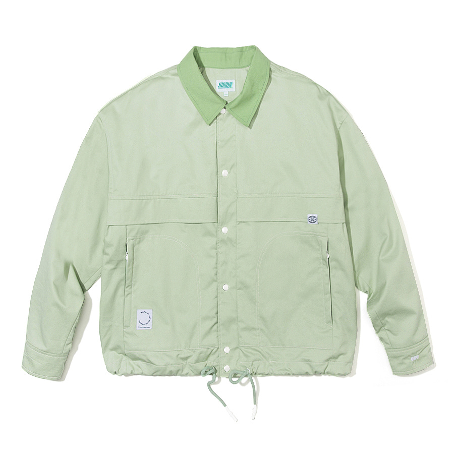 Point Stitch Jacket Mint